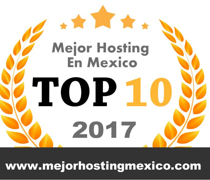 mejor hosting mexico 2017